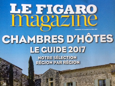 le figaro magazine chambres d 39 h tes le guide 2017 h tel particulier guilhon. Black Bedroom Furniture Sets. Home Design Ideas